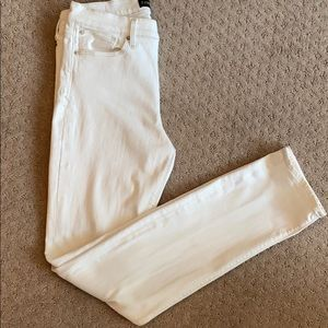Express Skinny Mid Rise Jean (Size 6L) long inseam